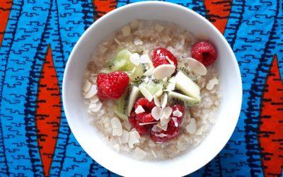 Creamy Coconut Quinoa Porridge