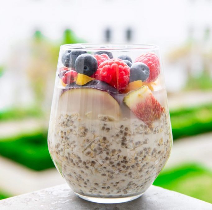 Quick Breaky. Overnight Oats
