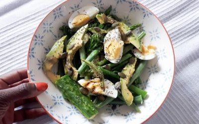 Candida Friendly Green Salad