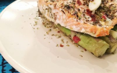 Wild Salmon and Asparagus
