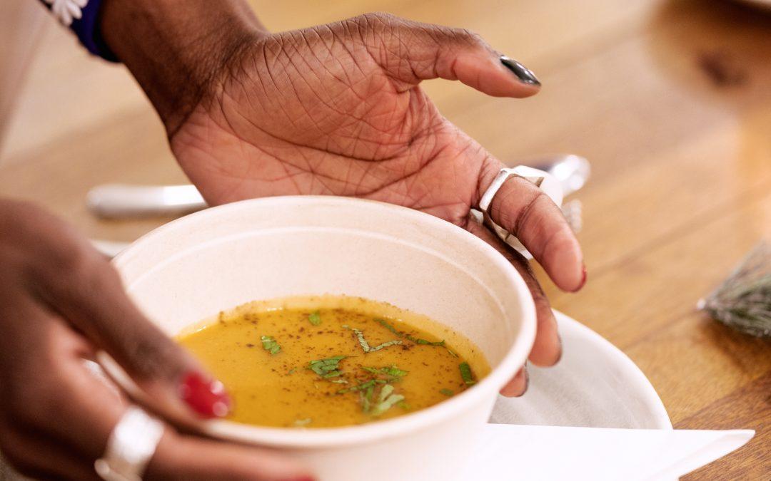 Hearty Sweet Potato and Cinnamon Soup