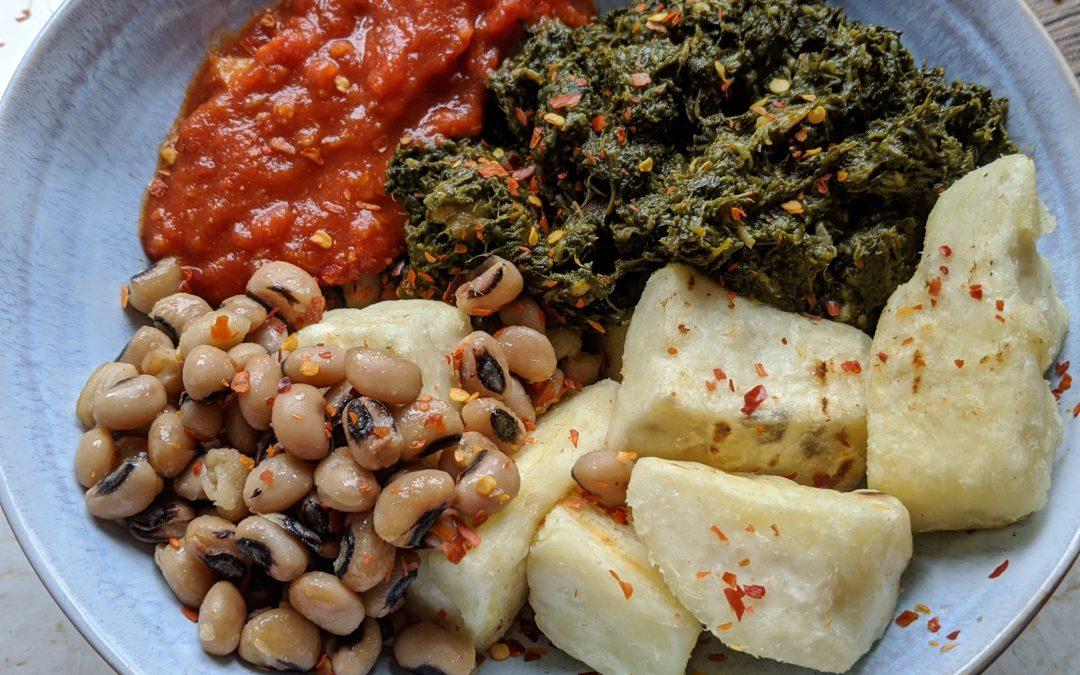 Togolese vegan bowl and Gut diversity